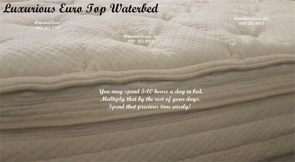Euro Top Softside Waterbed