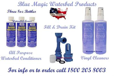 Blue Magic Waterbed Conditioner, Cleaner & Patch kit