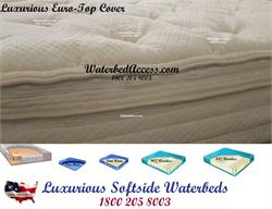 Softside waterbed for king, queen, full or twin