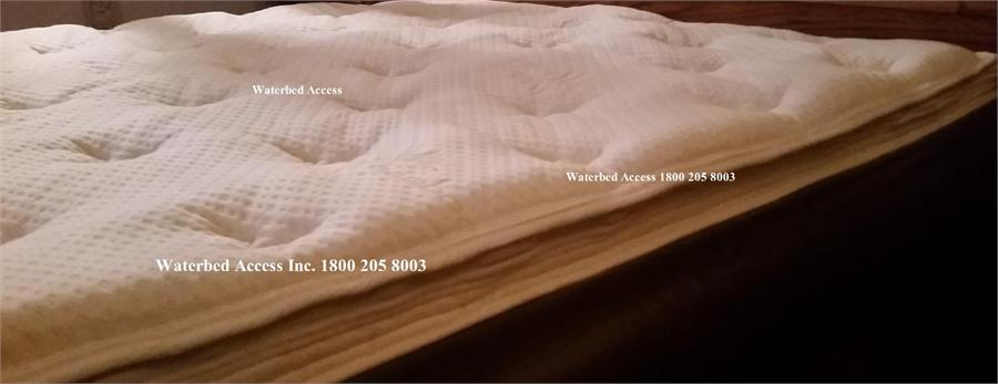 Bamboo Euro Top Zipper Cover For Hardside Waterbed Mattress