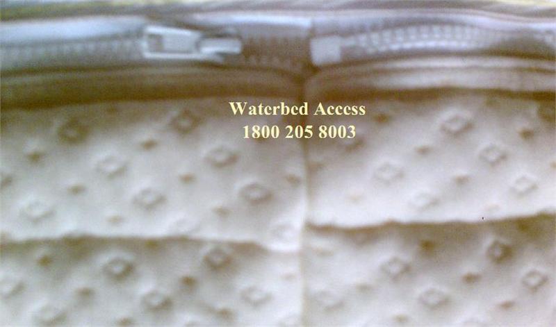 Bamboo Zipper Mattress Cover Encasement For Hardside Waterbed