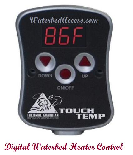 Touch Temp Digital Softside Waterbed Heater 1 800 205 8003