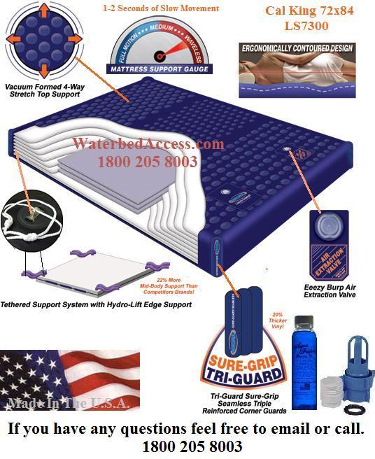 California King Ls7300 99 Waveless Mattress And Fill Kit