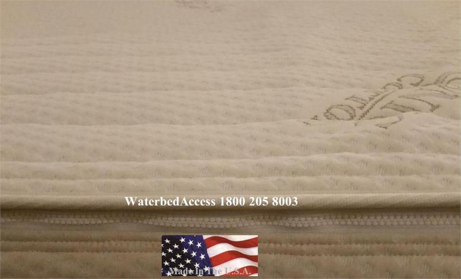 Cotton Zipper Mattress Cover For King Queen Full And