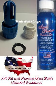 California King Ls6300 95 Waveless Waterbed Mattress With