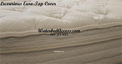 If you want the most luxurious mattress cover available then this is the cover for you. We hand picked and helped designed this luxurious cover with your comfort in mind. No short cuts were taken and only the finest materials were used. Made in the U.S.A.