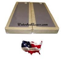 This Full size foundation is designed to support weight of your soft side waterbed. It look just like a regular twin or single size soft side box spring but it is a lot stronger.
