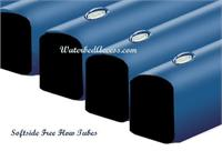 This free flow tube kit includes five free flow tubes. This tube is also known as a waterbed cylinder kit for twin or single size softsides waterbeds and soft side water bed mattresses.