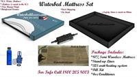 This waterbed mattress is very popular and it will give that traditional waterbed feel. Sleep like more comfortable your worth it.