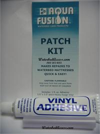 Fix and repair a puncture in your waterbed or air mattress then quickly. This vinyl patch kit is easy to use and its also perfect for fixing pool liner and other vinyl products. It is also made in the U.S.A.