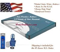 The 6000L waveless waterbed mattress by United States waterbed is one of the most comfortable and trouble free mattress that we have sold. We have it our lowest price and we ship quickly.