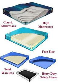 Super Single waterbed mattresses and liner. We have free flow and semi wave mattress in stock at the lowest prices and we have ship fast.