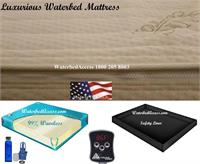 If you have a cal king, queen or super single mattress and it is time to change your water mattress then this is an excellent  choice. This mattress is filled with super soft fiber which will contour to your body & it also comes with a comfortable cover.