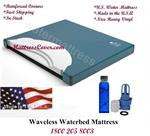 This waterbed mattress is designed